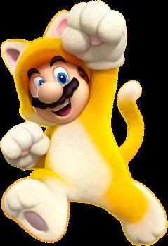 It'sa me-ow! Mario!