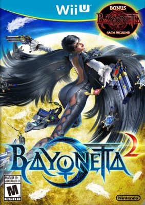 Bayonetta 2 cover art © Nintendo