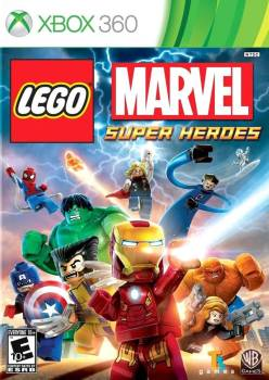 LEGO Marvel Super Heroes cover art © Tt games, Warner Bros., Microsoft