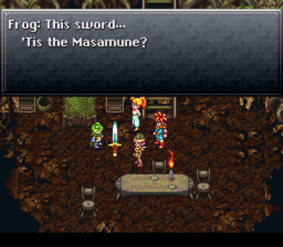 CT08 Frog gets the masamune