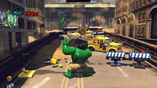 No Marvel game is complete without a little Hulk SMASH!