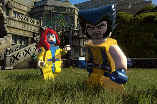 It's hard enough to argue with Wolverine, but LEGO Wolverine? Wook at dat cuddly face!