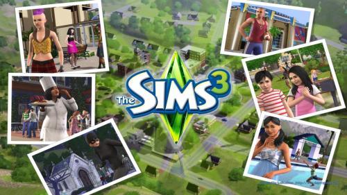 1920x1200px, Sims 3 (1317.14 KB), by David Dekel