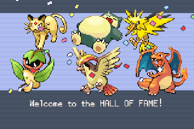 My winning LeafGreen team.