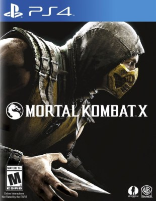 Mortal Kombat X cover art © NetherRealm Studios, Warner Bros., Sony