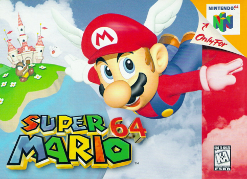 Super Mario 64 cover art © Nintendo